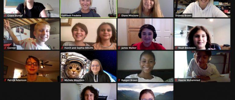DreamUp Teams virtual meeting
