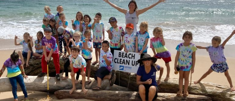 Alaka'i O Kaua'i Surfrider Foundation beach cleanup 2021